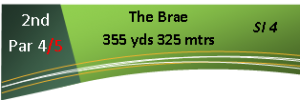 2nd Hole - The Brae