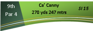 9th Hole - Ca'Canny